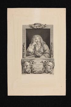 Bildnis des Poquelin de Moliere