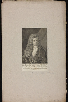 Bildnis des Augustus Quirinus Rivinus