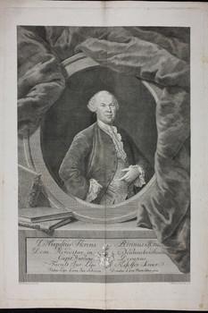 Bildnis des Augustus Florens Rivinus