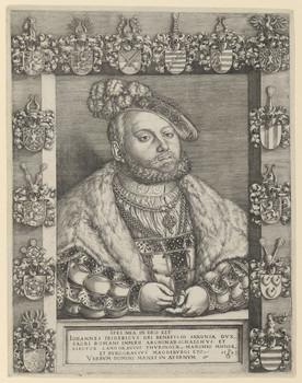 Bildnis des Iohannes Fridericvs, Kurfürst von Sachsen
