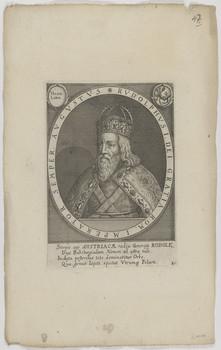 Bildnis des Rvdolphvs I., römisch-deutscher König