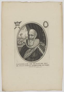 Bildnis des Maximilian de Bethvne, Dvc de Svlly