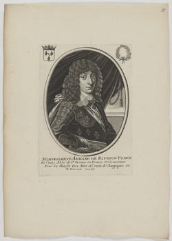 Bildnis des Armand de Bovrbon de Conty