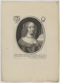 Bildnis der Anne Marie de Bourbon