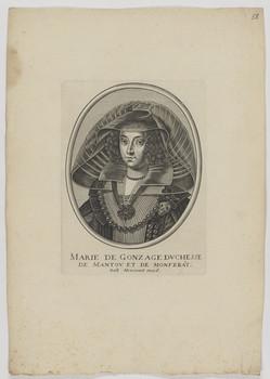 Bildnis der Marie de Gonzage