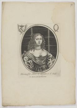 Bildnis der Marie de Lorraine et de Guyse
