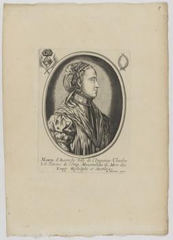 Bildnis der Marie d'Austriche
