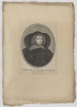 Bildnis der Christine de France, Herzogin von Savoyen