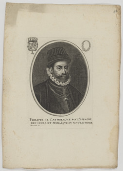 Bildnis des Philippe II., König von Spanien