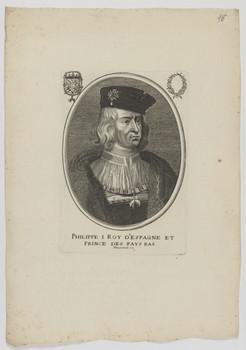 Bildnis des Philippe I., König von Spanien