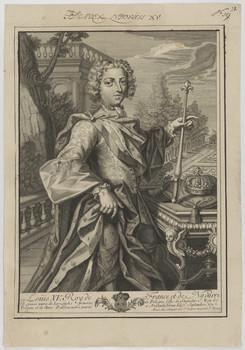 Bildnis des Louis XV., König von Frankreich