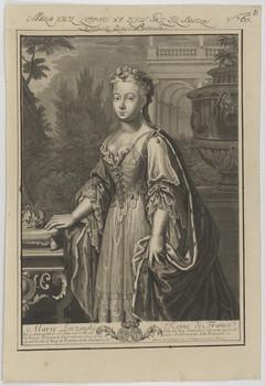 Bildnis der Marie Leczinski, Königin von Frankreich