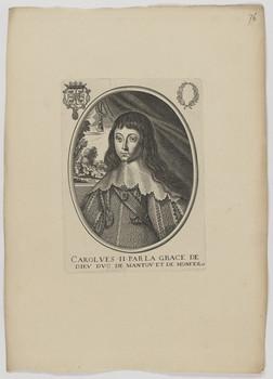 Bildnis des Carolves II., Herzog von Mantua