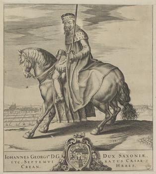 Bildnis des Iohannes Georgius, Kurfürst von Sachsen