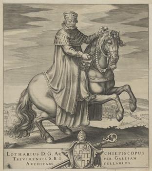 Bildnis des Lotharius, Erzbischof von Trier
