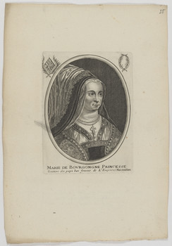 Bildnis der Marie de Bovrgongne