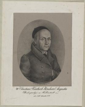 Bildnis des Christian Friedrich Bernhard Augustin