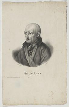 Bildnis des Johann Jacob Bodmer