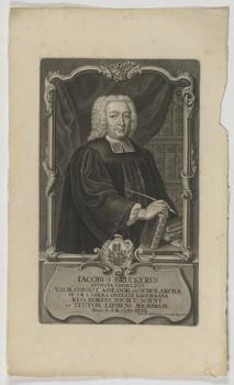 Bildnis des Iacobus Bruckerus