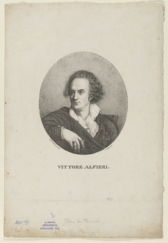 Bildnis des Vittorio Alfieri
