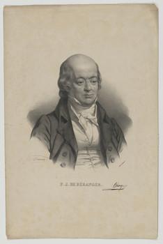 Bildnis des Pierre Jean de Béranger