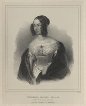 Bildnis der Friederike Caroline Juliane, Herzogin zu Anhalt-Bernburg