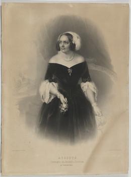 Bildnis des Auguste, Herzogin von Anhalt-Köthen