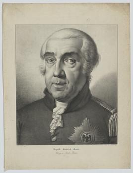 Bildnis des Leopold III., Herzog von Anhalt-Dessau