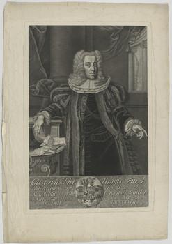 Bildnis des Gustavus Philippus Fürer