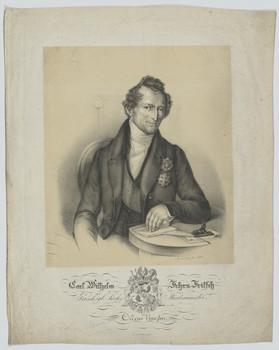 Bildnis des Carl Wilhelm Fritsch