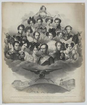 Bildnis des Königs Friedrich Wilhelm III. von Brandenburg-Preußen und seiner Familie