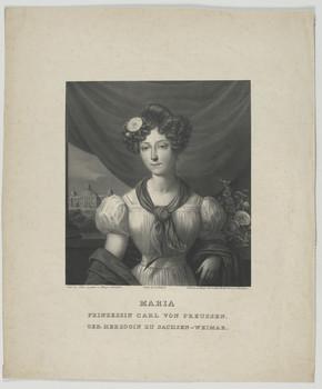 Bildnis der Maria, Prinzessin Carl von Preußen, geb. Herzogin zu Sachsen Weimar