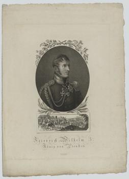 Bildnis des Friedrich Wilhelm III., König von Preußen