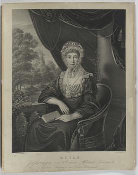 Bildnis der Sophie Luise, Großherzogin von Sachsen-Weimar-Eisenach