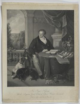Bildnis des Carl August von Sachsen-Weimar