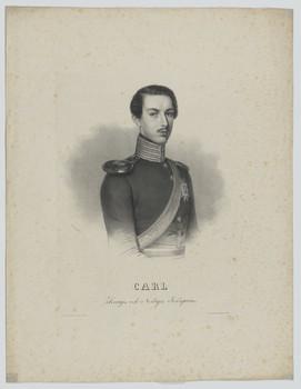 Bildnis des Kronprinzen Carl von Schweden und Norwegen