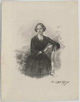 Bildnis des Prinzessin Anna Amalia von Sachsen-Weimar