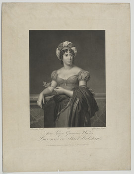 Bildnis der Anne Luise Germaine Necker de Staël-Holstein