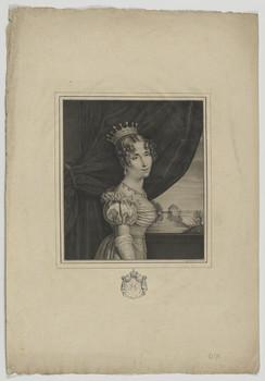 Bildnis der Hortense de Beauharnais