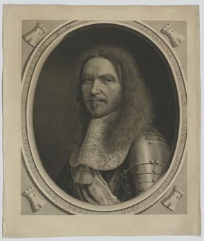 Bildnis des Henri de La Tour D´Auvergne de Turenne