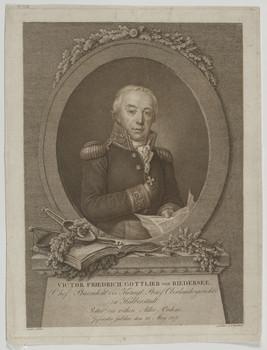 Bildnis des Viktor Friedrich Gottlieb von Biedersee