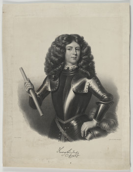 Bildnis des Georg I., König von England
