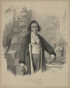 Bildnis des Ludwig Bechstein