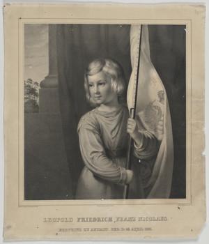 Bildnis des Friedrich I. (Leopold Friedrich Franz Nicolaus), Herzog von Anhalt-Dessau