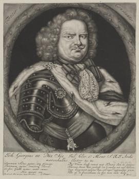 Bildnis des Georgius III., Kurfürst von Sachsen