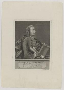 Bildnis des Ioannes Paulus Reinhardus