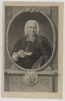 Bildnis des Jo. Christian Rende