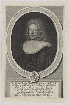 Bildnis des Johannes Baptista Rentz
