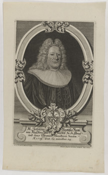 Bildnis des Johann Batista Rentz