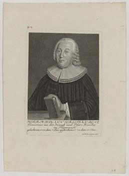 Bildnis des Johann Sebastian Renz